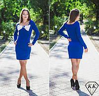Синее платье 15524