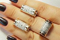 Комплект ювелирных украшений из серебра и золота