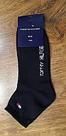 """Мужские стрейч,носки в стиле""""Tommy G""""Турция(39-43),Черные, фото 1"""