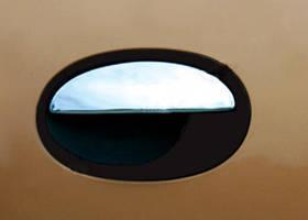Накладки на ручки (4 шт., нерж.) Opel Corsa C 2000↗ гг.