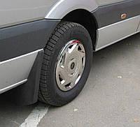 Колпаки из нержавейки (1 катк., 4 шт) Mercedes Sprinter 2006-2018 гг.