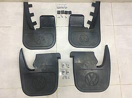 Комплект брызговиков (4 шт, под оригинал) Volkswagen T4 Caravelle/Multivan