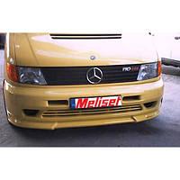 Нижняя накладка на бампер Brabos Style (под покраску) Mercedes Vito W638 1996-2003 гг.