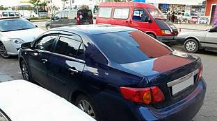 Ветровики (4 шт, Sport) Toyota Corolla 2007-2013 гг.