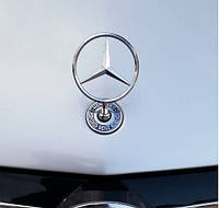 Эмблема прицел 124 Mercedes E-klass W124