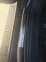 Накладки на пороги без надписи (4 шт, нерж.) Volkswagen Touareg 2002-2010 гг.