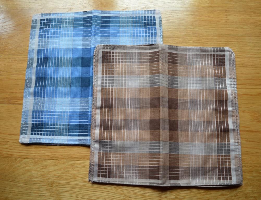 Носовые платки мужские и женские 100% хлопковые носовые платки  носовички хустинки для носа