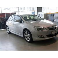 Боковые юбки HB (под покраску) Opel Astra J 2010↗ гг.