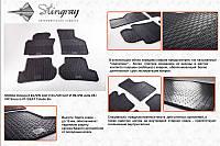 Резиновые коврики в салон (4 шт, Stingray Premium) Audi A3 2004-2012 гг.