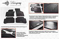 Резиновые коврики (4 шт, Stingray Premium) Volkswagen Passat B6 2006-2012 гг.