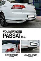 Спойлер (под покраску) Volkswagen Passat B8 2015↗ гг.