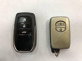 Обновленный ключ V1 Toyota LC 200