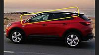 Верхние молдинги стекол (8 шт, нерж) Opel Grandland X 2016↗ гг.
