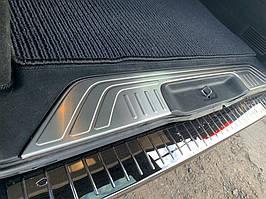Накладка на порог багажника (нерж) Mercedes Vito