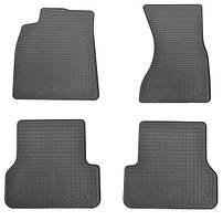 Резиновые коврики (4 шт, Stingray Premium) Audi A6 C7 2011↗ гг.