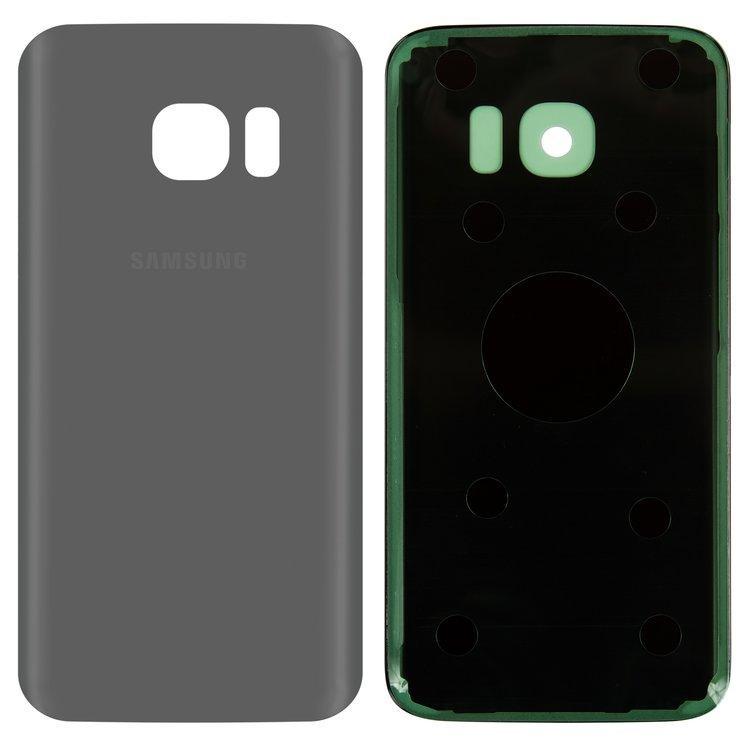 Задняя крышка Samsung G930F Galaxy S7 серебристая