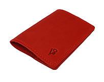 Обложка для паспорта кожаная SULLIVAN odp6(3) красная