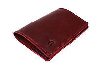 Обложка для паспорта кожаная SULLIVAN odp7(3) марсала