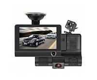 Зеркало видеорегистратор DVR XH202 FullHD 1080p. автомобильный регистратор PRO Черный, фото 1