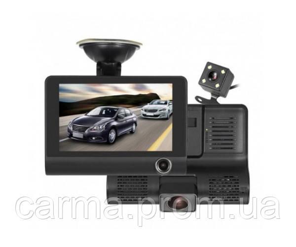 Зеркало видеорегистратор DVR XH202 FullHD 1080p. автомобильный регистратор PRO Черный
