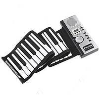 Гибкая MIDI клавиатура синтезатор пианино 61 кл