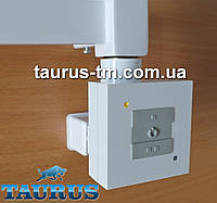 Белый кадратный ТЭН с маскировкой провода + управление с кнопками - 2 режима. Мощность: 120-1000Вт.