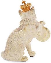 Фигурка декоративная с часами Королевский Кот 15х8х17.5 см