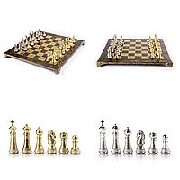 Шахматы MANOPOULOS 7.4 кг 44х44 см Коричневые