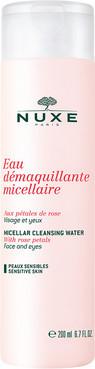 Очищающая мицеллярная вода с лепестками роз Нюкс NUXE MICELLAR CLEANSING WATER WITH ROSE PETALS, 200 мл