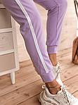 Женские брюки, креп - дайвинг, р-р 42-44; 44-46 (лиловый), фото 4