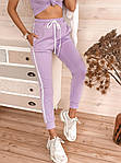 Женские брюки, креп - дайвинг, р-р 42-44; 44-46 (лиловый), фото 5