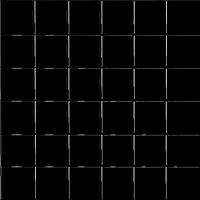 Декор мозаика чёрная 41х41 - 250х250
