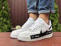 Кроссовки мужские Nike Air Force 1 в стиле Найк Аир Форс 1, белые