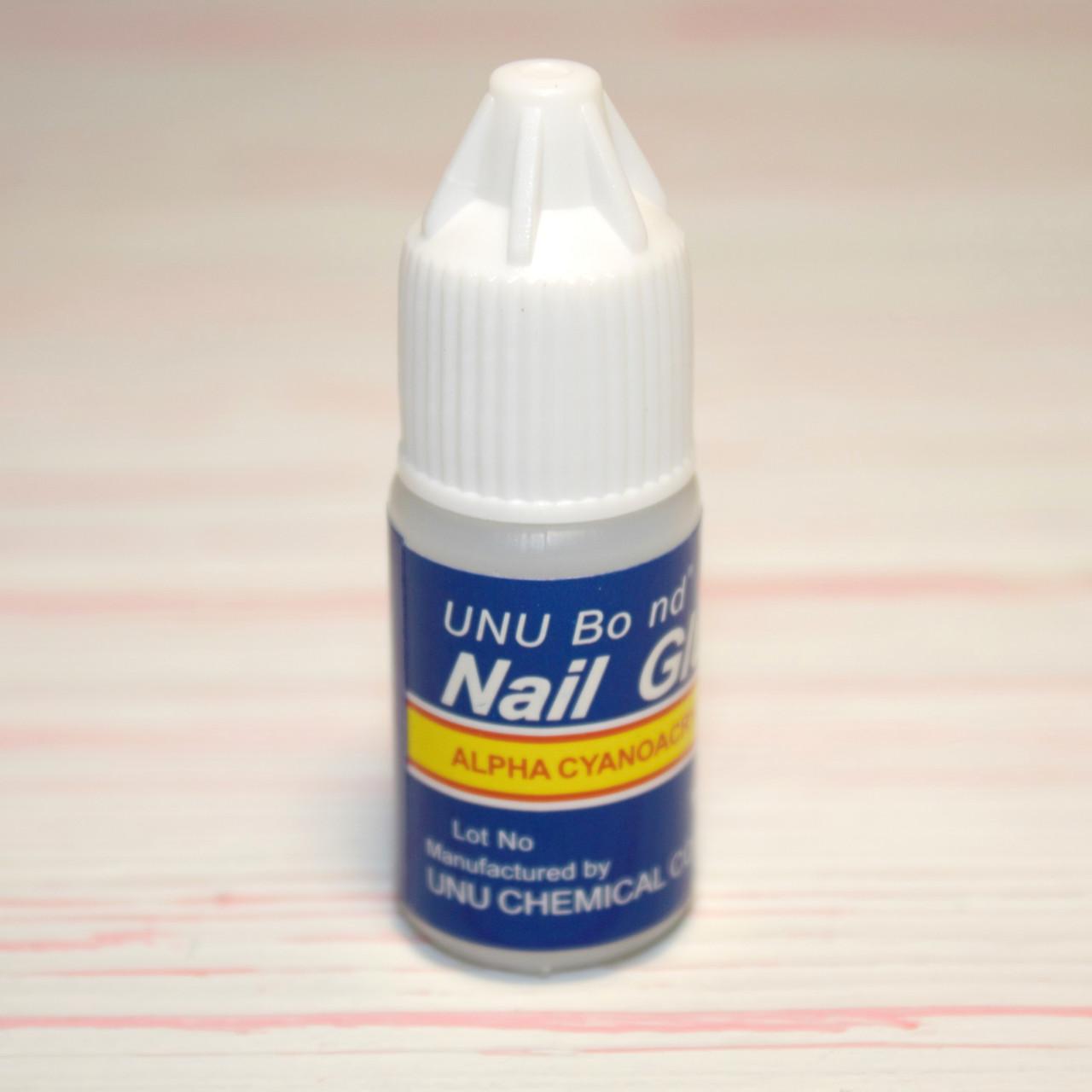 Клей для ногтей, страз, типсов Nail Glue 3g