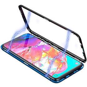 Magnetic case Full Glass 360 (магнитный чехол) для Vivo V15 Pro