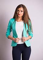 Пиджак с застежкой в виде броши