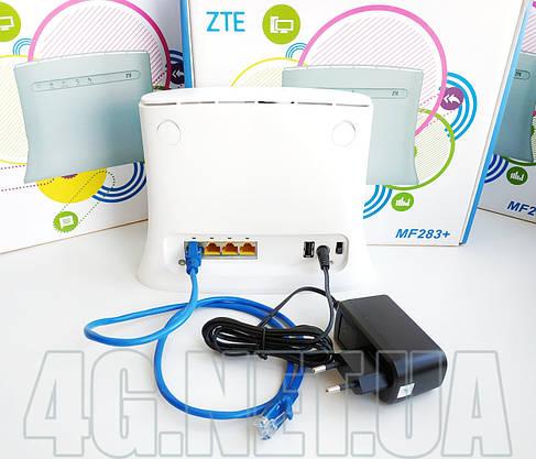 4G/3G WI-FI роутер ZTE 283+ с двумя выходами под антенну мимо для симкарты Киевстар, Vodafone, Lifecell, фото 2