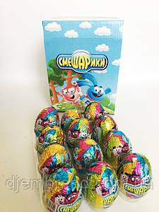 Яйцо шоколадное Смешарики 25 г 24 шт (ANL) Турция
