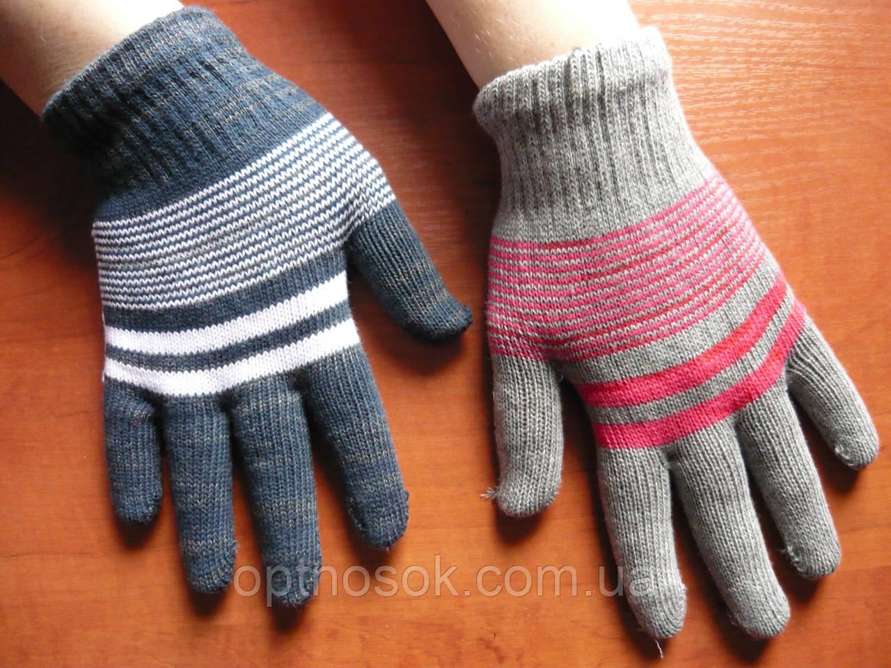 Подростковые перчатки. Девочка.