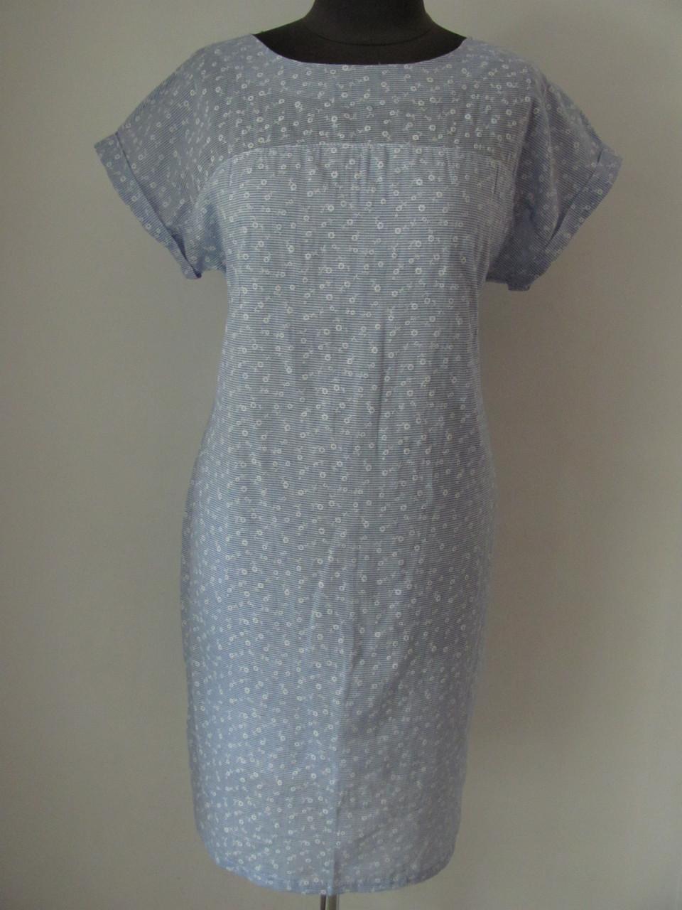 Нежное летнее платье для милого непосредственного образа, р.48 3395М