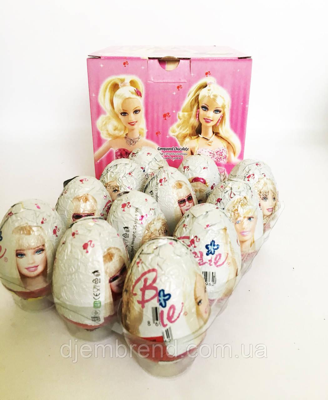 Яйцо шоколадное Барби 25 г 24 шт (ANL) Турция
