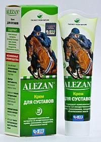 Алезан С голограммой! (Alezan) 100 мл крем для суставов.
