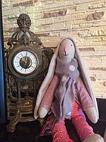 Заяц тильда. Авторская кукла ручной работы
