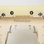 Массажный стол деревянный 2-х сегментный RelaxLine Cleopatra кушетка массажная для массажа, фото 8