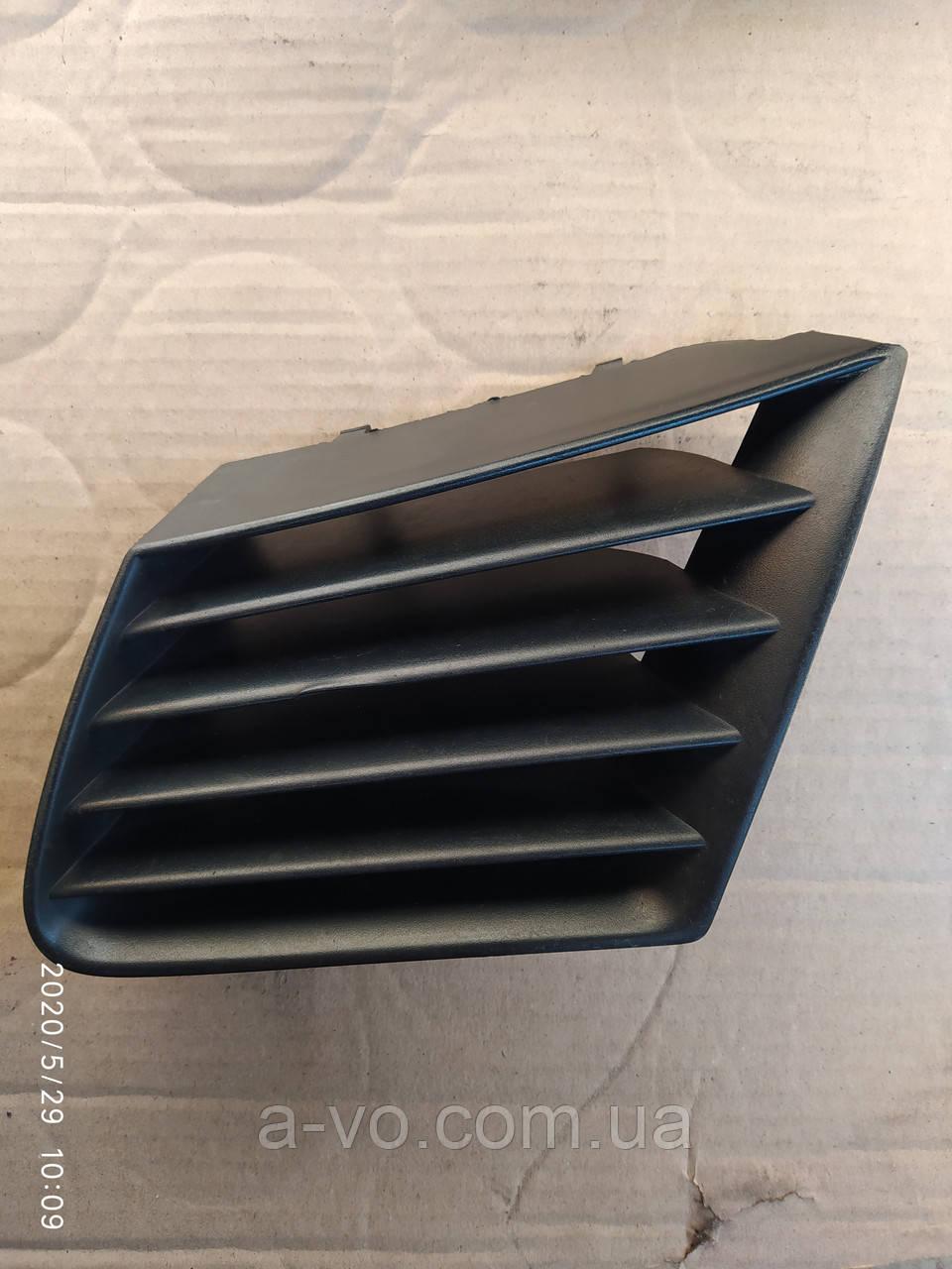 Решетка заглушка бампера передняя левая  Seat IBIZA Cordoba 6l0853677