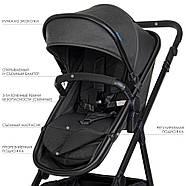 Дитяча универскальная коляска-трансформер ME 1069 ALLIANCE Denim Dark Gray Гарантія якості, фото 8