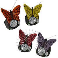 Светильник садово-парковый на солнечной батарее Lemanso Cab124 бабочка
