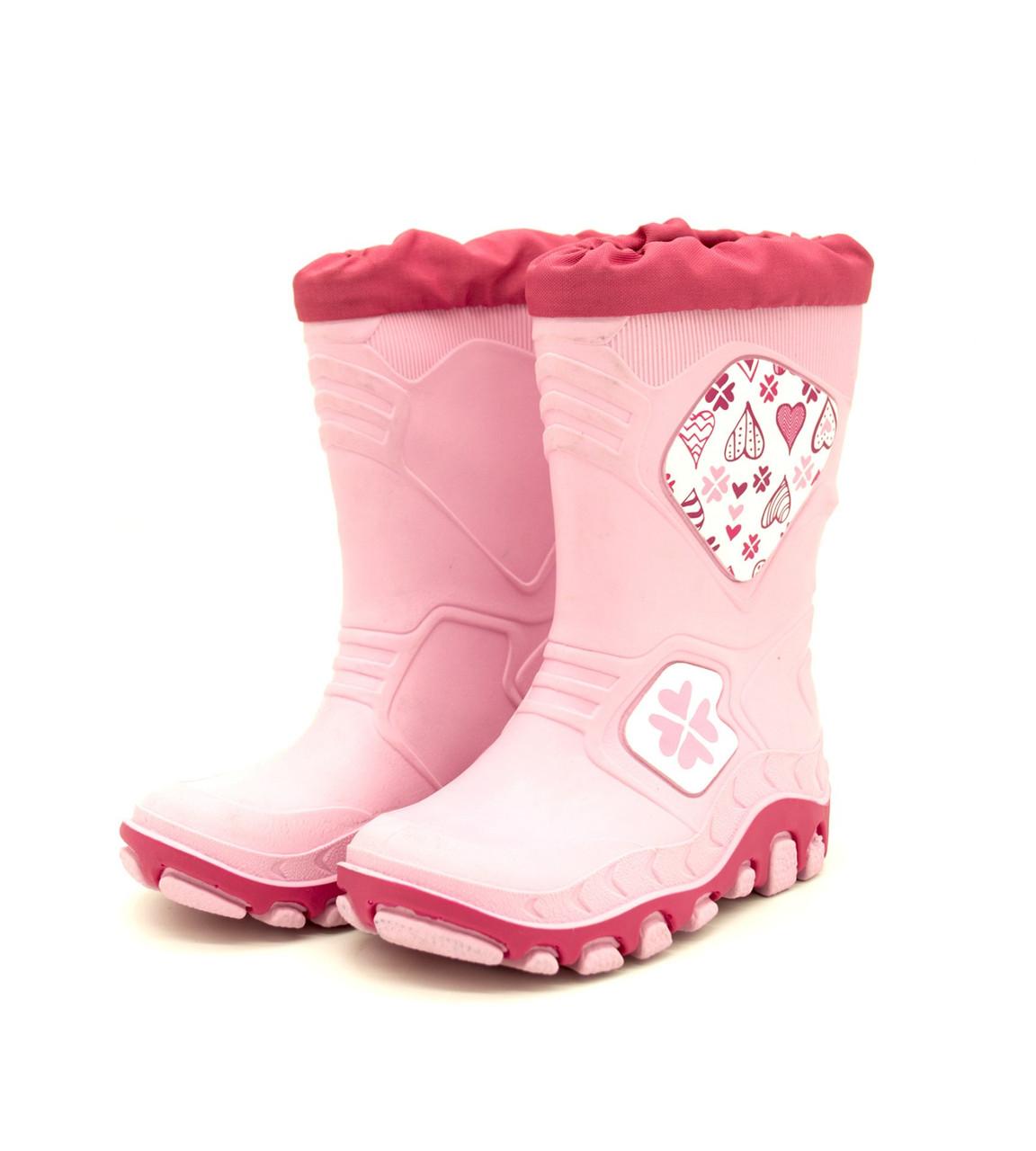 Гумові чоботи для дівчинки фірми Lupilu Італія Розмір: 22-23.