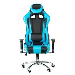 Крісло офісне Special4You ExtremeRace black/blue