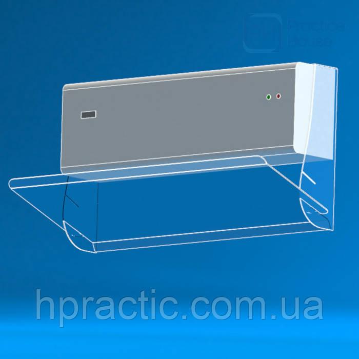 Экран-отражатель для кондиционера без сверления стены